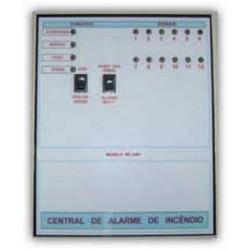 Central de alarme de incêndio