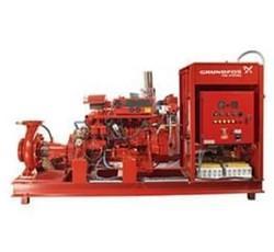 Sistema de incêndio industrial