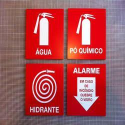 Venda de placas de sinalização