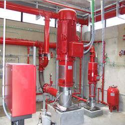 Sistemas de incêndio industrial