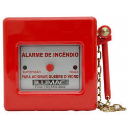 Sistema de detecção alarme e combate a incêndio