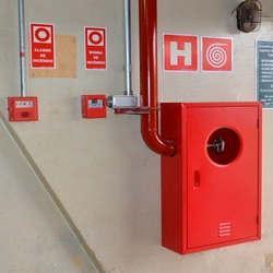 Central de alarmes de incêndio endereçável