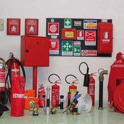 Equipamentos combate a incêndio
