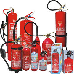 Equipamentos de combate a incêndio e auxiliares