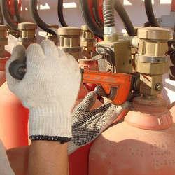 Manutenção extintores de incêndio