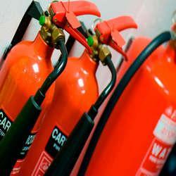 Manutenção sistema de alarme de incêndio