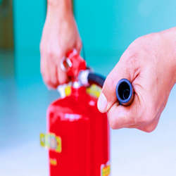 Alarme de incêndio manutenção