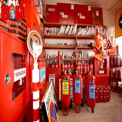Manutenção alarme de incêndio