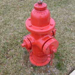 Fabricação em rede de hidrantes