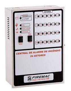Fabricante de central de alarme de incêndio