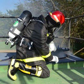 Máscaras autônoma para bombeiro
