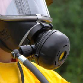 Máscaras autônoma para espaço confinado