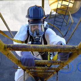 Máscara de ar mandado para espaço confinado preço