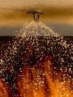 Projeto contra incêndio sprinkler