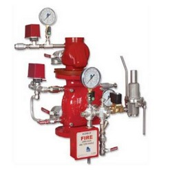 Sistema preventivo contra incêndio