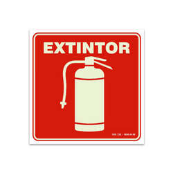 Sinalização saída de emergência