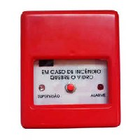 Acionador manual de incendio