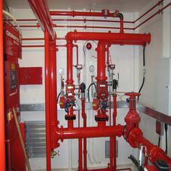 Sistema de segurança contra incêndio